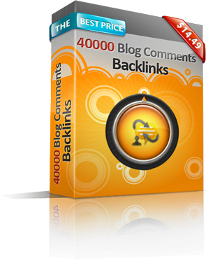 40,000 Blog Comment Backlinks