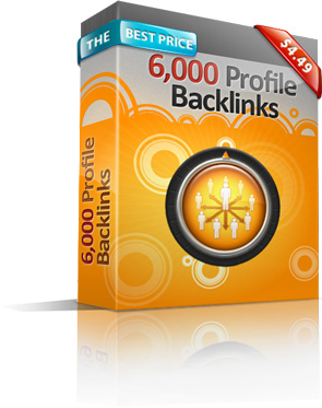 6000 Profile Backlinks